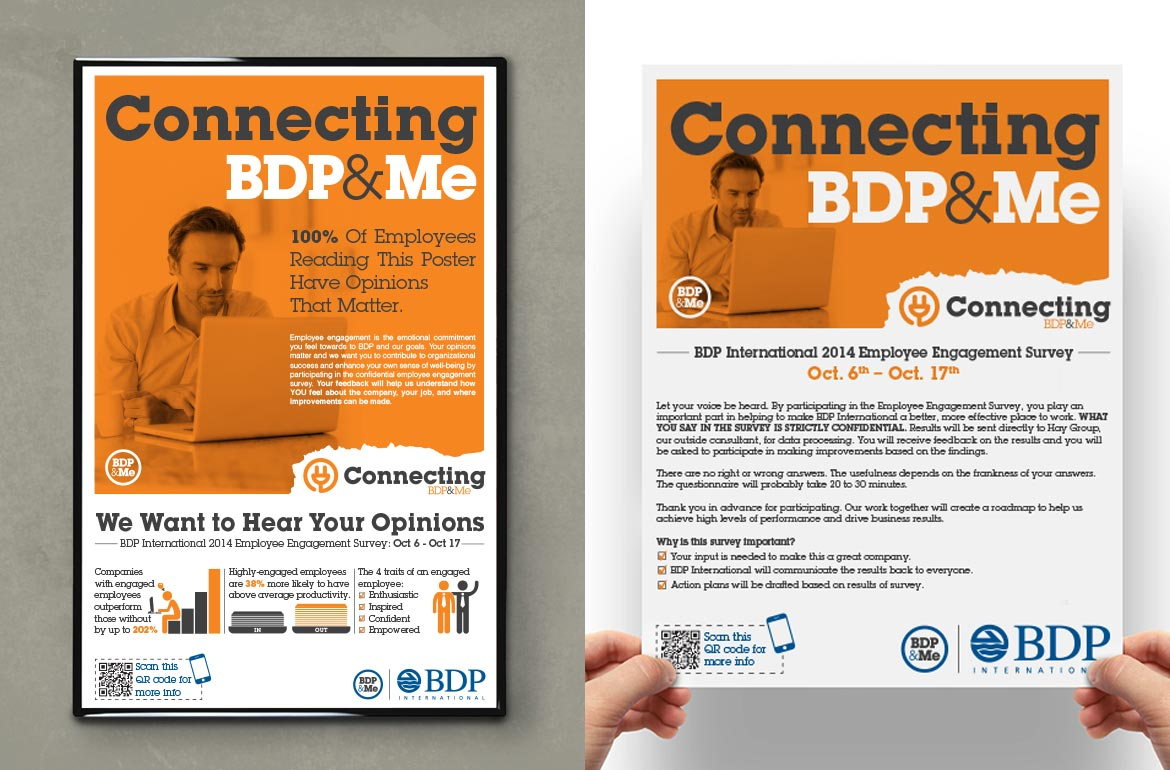 BDP International Connecting Engagement Campaign