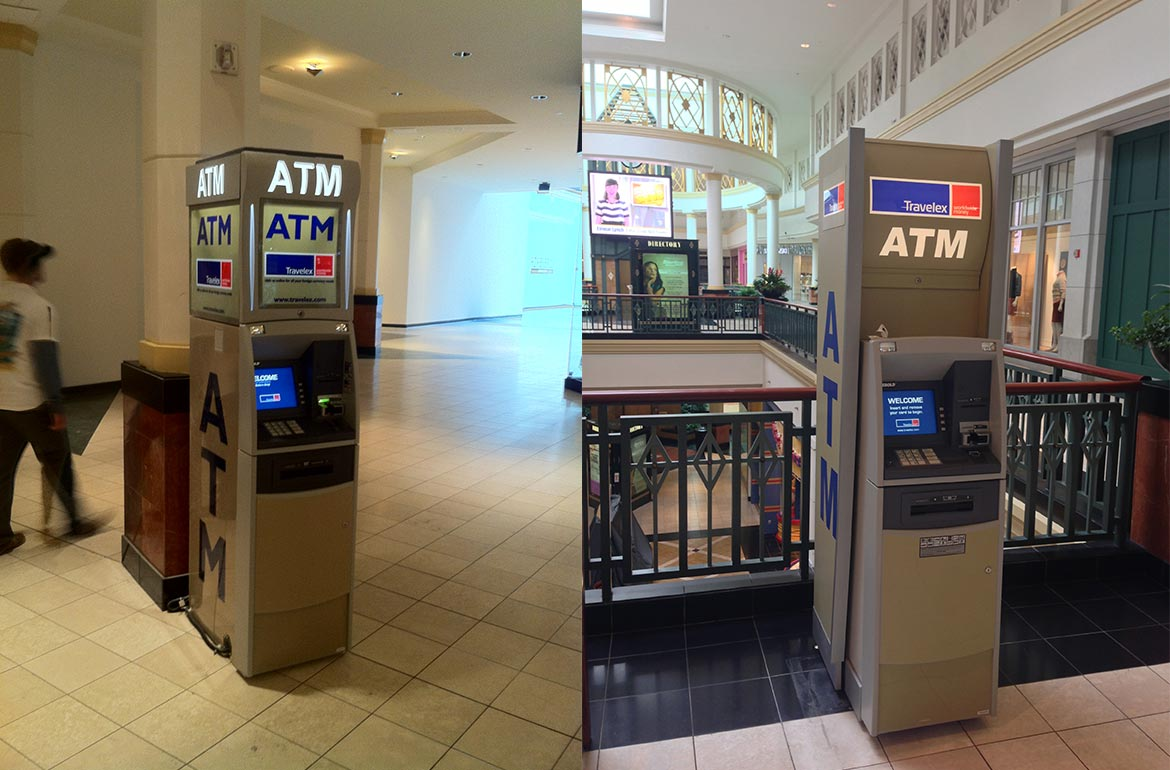 King of Prussia Mall Foreign Currency ATM Design